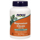 Magnesium Citrate, 200mg - 100 tablets