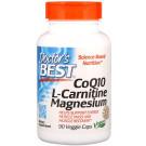 CoQ10, L-Carnitine, Magnesium - 90 vcaps
