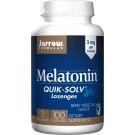 Melatonin with Quik-Solv, 3mg Berry Hibiscus - 100 lozenges