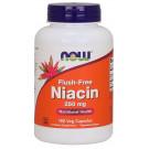 Niacin Flush-Free, 250mg - 180 vcaps