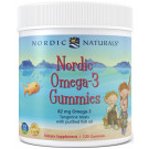 Nordic Omega-3 Gummies, 82mg Tangerine Treats - 120 gummies