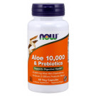 Aloe 10,000 & Probiotics - 60 vcaps