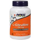 L-Citrulline, 750mg - 90 vcaps