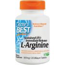 L-Arginine - Sustained + Immediate Release, 500mg - 120 tabs