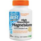 High Absorption Magnesium, 100mg - 240 tabs