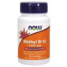 Methyl B-12 with Folic Acid, 5000mcg - 60 lozenges