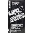 Lipo-6 Black Ultra Concentrate Stim-Free - 60 caps
