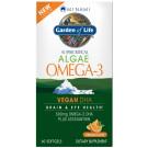 Minami Algae Omega-3 Vegan DHA - 60 softgels