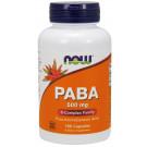 PABA, 500mg - 100 caps