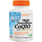 High Absorption CoQ10 with BioPerine, 200mg - 180 vcaps