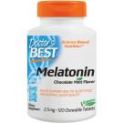 Melatonin, 2.5mg Chocolate Mint - 120 chewable tabs