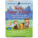 Nordic Omega-3 Fishies, 300mg Yummy Tutti Frutti Taste - 36 fishies
