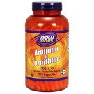 Arginine & Ornithine, 500/250 - 250 caps