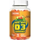 Yum-Yum D3 Gummies, 10mcg - 90 gummies