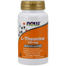 L-Theanine with Decaf Green Tea, 100mg - 90 vcaps