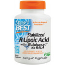 Stabilized R-Lipoic Acid with BioEnhanced Na-RALA, 100mg - 60 vcaps