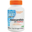 Astaxanthin with AstaPure, 6mg - 90 veggie softgels