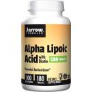 Alpha Lipoic Acid, 100mg with Biotin - 180 tabs