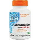 Astaxanthin with AstaPure, 6mg - 30 veggie softgels