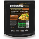 Performance Meals, Chinese Style Chicken Curry & Brown Rice - 1 Pack