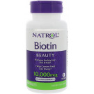 Biotin, 10 000mcg - 100 tabs