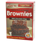 Doctor's CarbRite Diet, Extra Rich & Fudgy Brownies with Chocolate Chips - 326g
