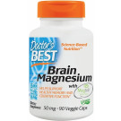Brain Magnesium with Magtein, 50mg - 90 vcaps
