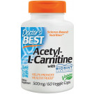 Acetyl L-Carnitine with Biosint Carnitines, 500mg  - 60 vcaps