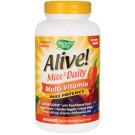 Alive! Max3 Daily Multi-Vitamin (no added Iron)
