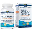 Omega Memory with Curcumin, 1000mg - 60 softgels