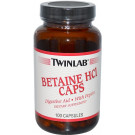 Betaine HCL Caps - 100 caps