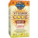 Vitamin Code RAW D3, 2000 IU - 60 vcaps