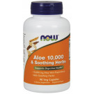 Aloe 10,000 & Soothing Herbs - 90 vcaps
