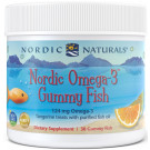 Nordic Omega-3 Gummies, 124mg Tangerine Treats - 30 gummies