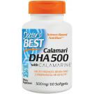 Calamari DHA 500 with Calamarine, 500mg - 60 softgels