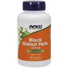 Black Walnut Hulls, 500mg - 100 caps