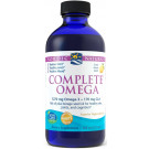 Complete Omega, 1270mg Lemon - 237 ml