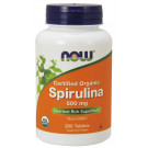 Spirulina Organic, 500mg - 200 tabs