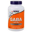 GABA, 750mg - 200 vcaps