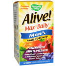 Alive! Max3 Men's Max Potency - 90 tabs