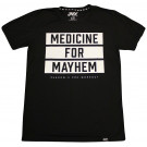Shadow‐X Medicine for Mayhem Tee, Black - Large