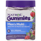 Men's Multi Gummies, Berry, Cherry & Grape - 90 gummies