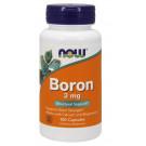 Boron, 3mg - 100 caps