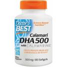 Calamari DHA 500 with Calamarine, 500mg - 180 softgels