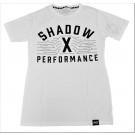 Shadow‐X Performance Tee, White - Random Size