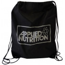 String Pulled Gym Bag, Black