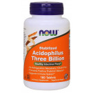 Acidophilus Three Billion - Stabilized - 180 tablets