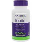 Biotin, 10000mcg - 100 tabs