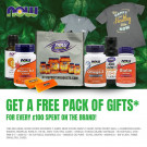 Free Pack of Gifts Now Foods