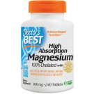 High Absorption Magnesium, 100mg - 240 tabs
